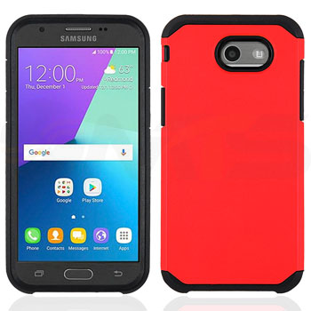 Samsung Galaxy J3 Emerge Prime Amp Prime 2 - Solid Red Honey