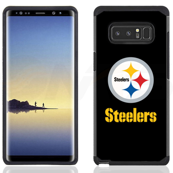 best sneakers 7e53e 649e9 Samsung Galaxy Note 8 - NFL Licensed Pittsburgh Steelers Black ...